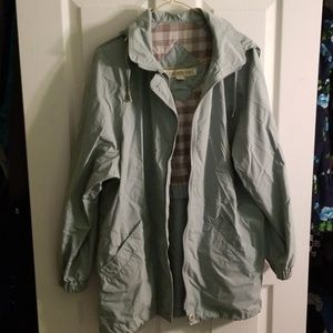 Sky Blue London Fog Jacket